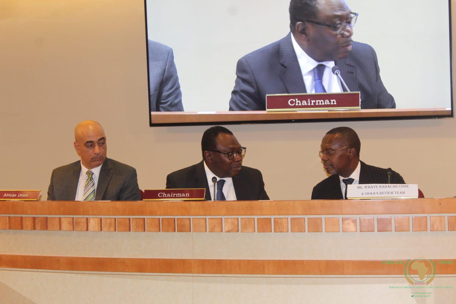 Présidence du Groupe des 54 Etats africains